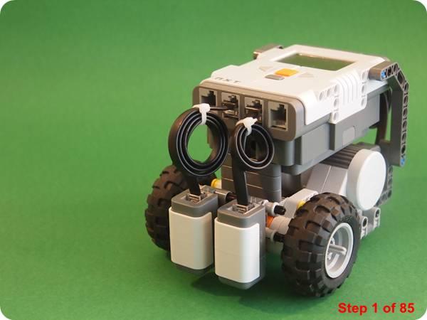 Club Engineer | Primar Rescue | NXT | Add a second light sensor ...